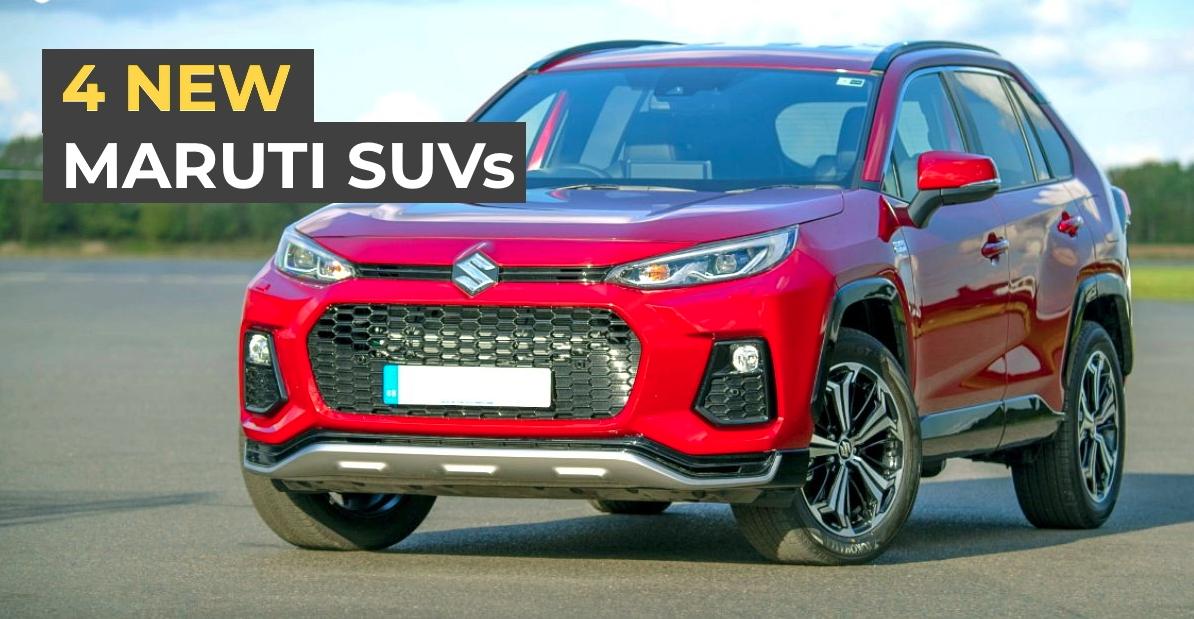 Maruti Suzuki की 4 नई अपकमिंग SUVs: बिल्कुल-नई Vitara Brezza से लेकर 5-डोर Jimny तक