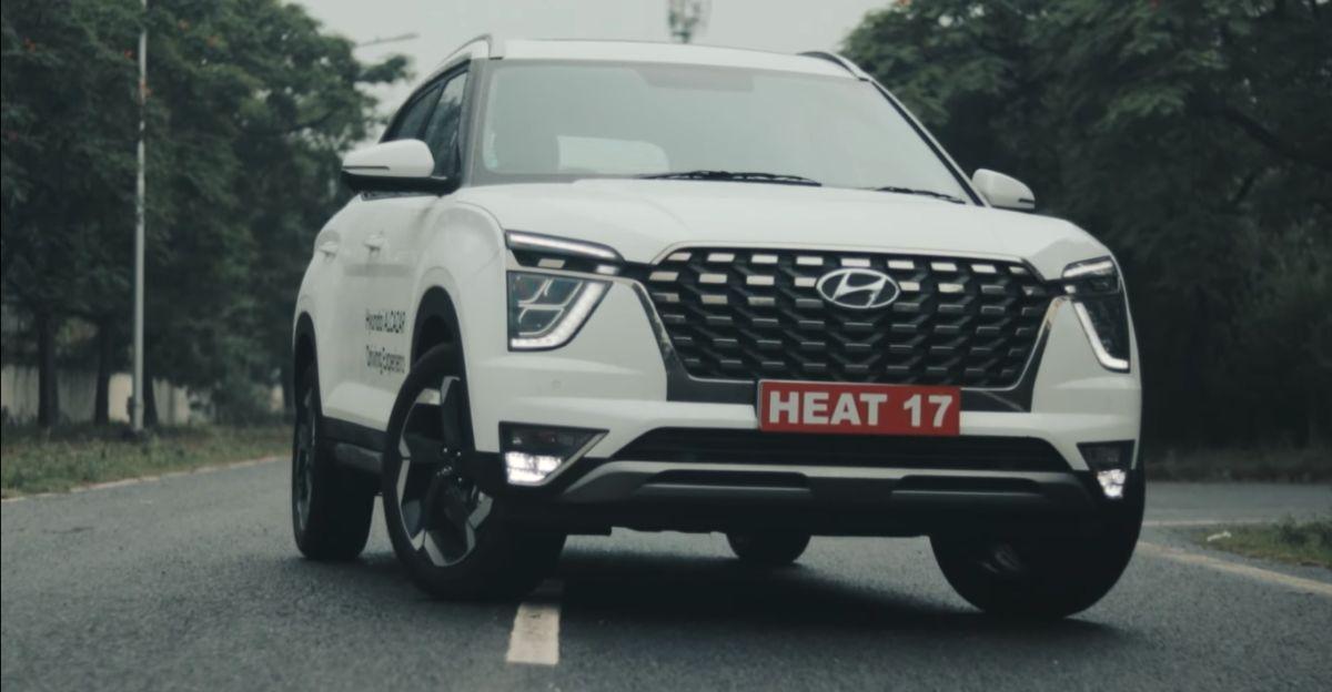 Hyundai Alcazar Diesel SUV: 0-100 किमी/घंटे वीडियो पर चलती है