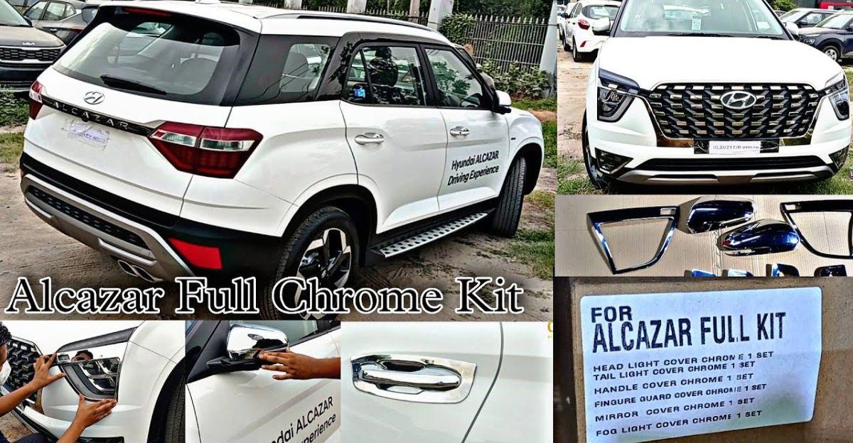 Hyundai Alcazar: असली एक्सेसरीज के बारे में वीडियो में बताया गया है