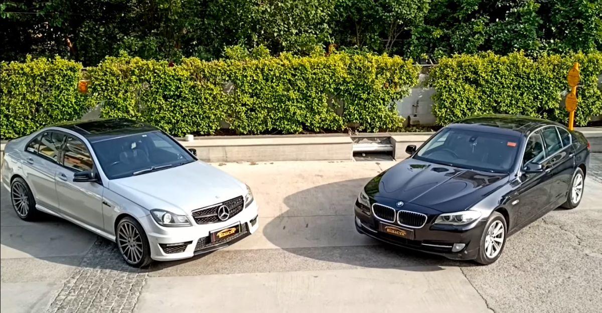 Well Maintained Mercedes-Benz & BMW Sedan सिर्फ 10.95 लाख रु. से उपलब्ध है