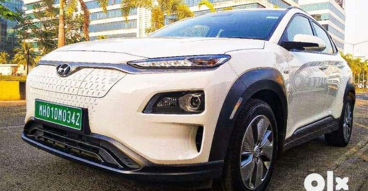 बिक्री के लिए बमुश्किल इस्तेमाल की गई इलेक्ट्रिक SUV: Tata Nexon से Hyundai Kona