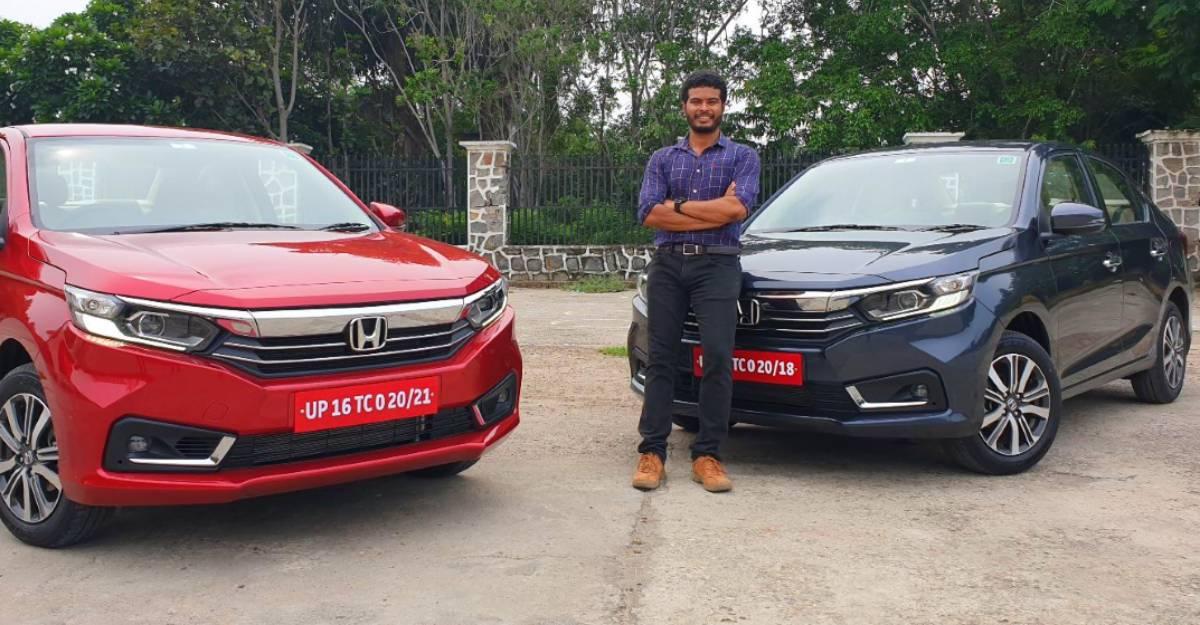 Honda Amaze Facelift पेट्रोल ऑटोमैटिक और मैनुअल CarToq के फर्स्ट ड्राइव वीडियो रिव्यू में