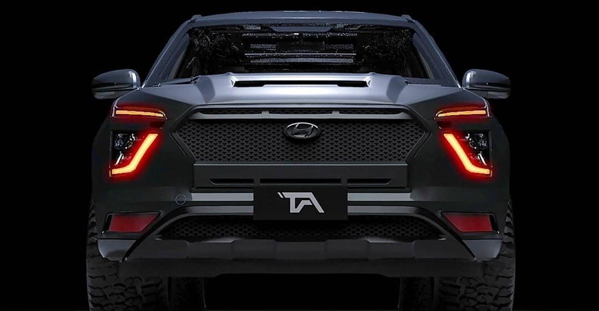 All-new 2020 Hyundai Creta Compact SUV के डार्क एडिशन की कल्पना