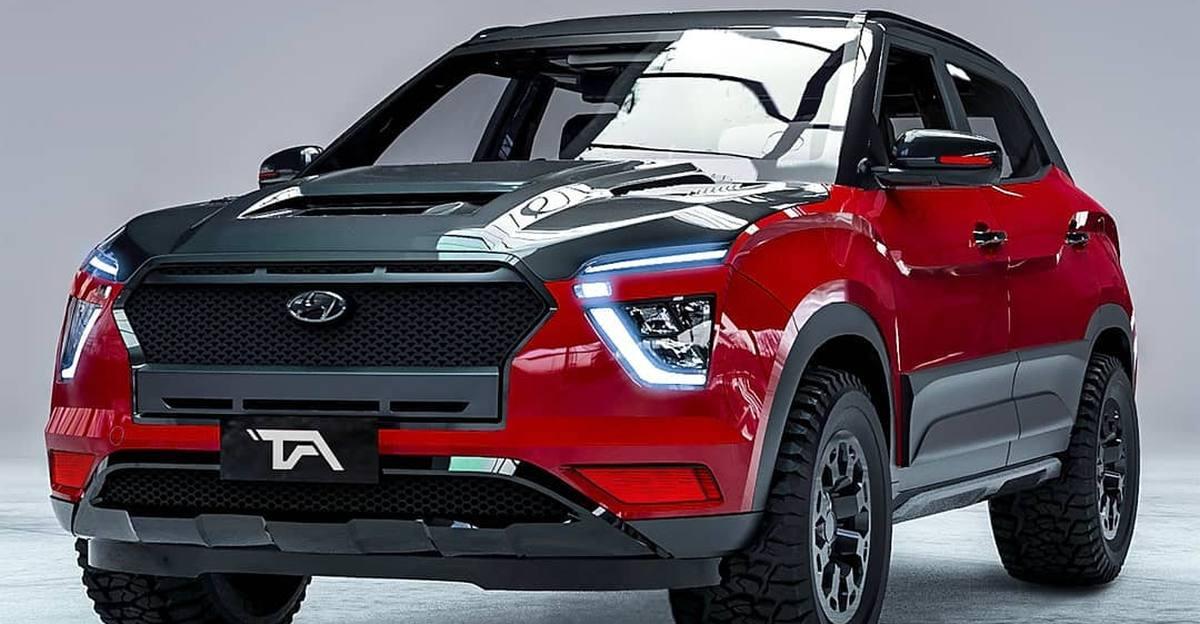 New Hyundai Creta कॉम्पैक्ट एसयूवी को ऑफ-रोडर के रूप में प्रस्तुत किया गया