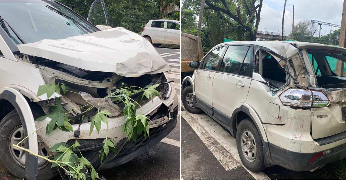 गजल गायक Imthiyas Beegum ने एक बड़ी दुर्घटना के बाद Hexa की build quality के लिए Tata Motors को धन्यवाद दिया