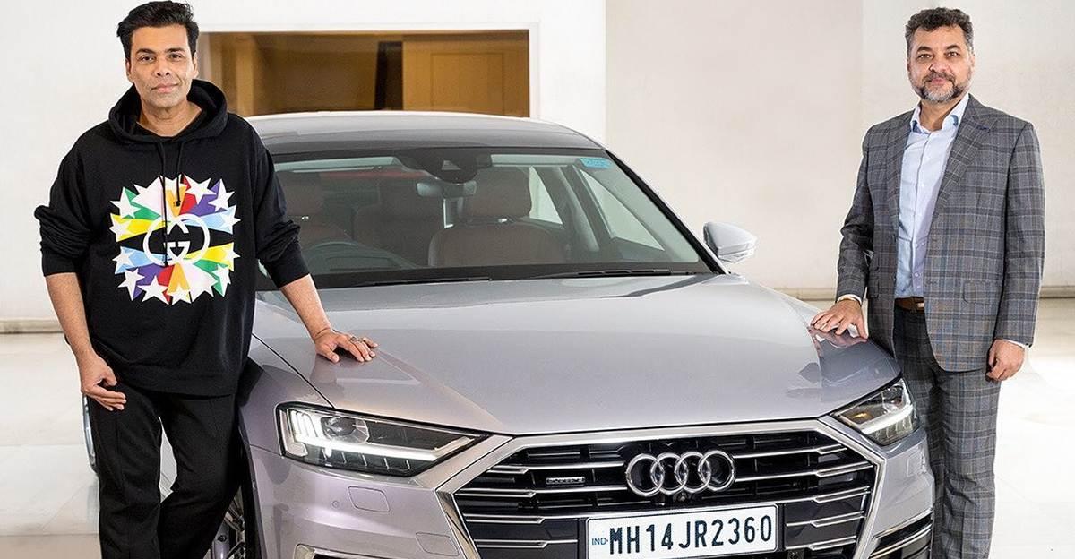 Bollywood डायरेक्टर Karan Johar ने Audi A8L लग्जरी सेडान खरीदा