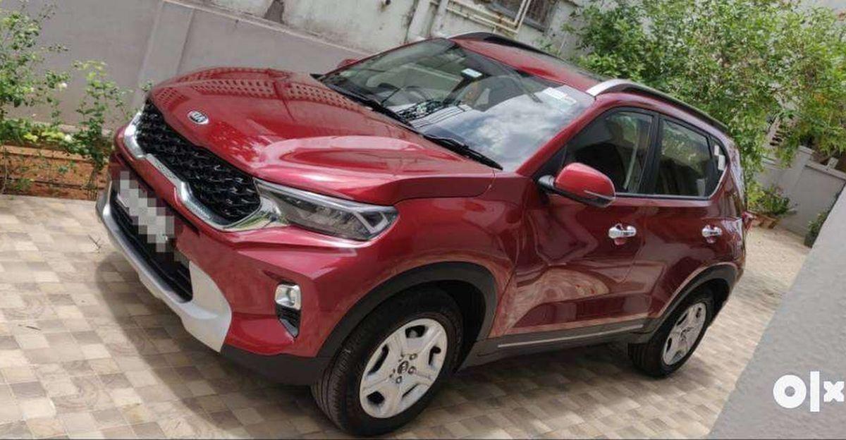 लगभग-नई Kia Sonet कॉम्पैक्ट SUVs बिक्री के लिए