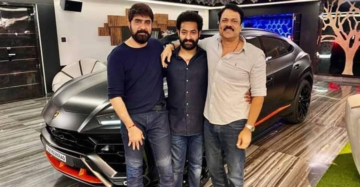 अभिनेता Junior NTR भारत के पहले Lamborghini Urus Graphite Capsule Edition के मालिक बने