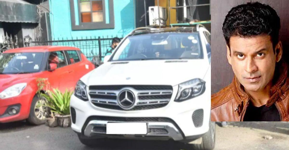 Actor Manoj Bajpayee ने Mercedes-Benz GLS लक्ज़री SUV खरीदी