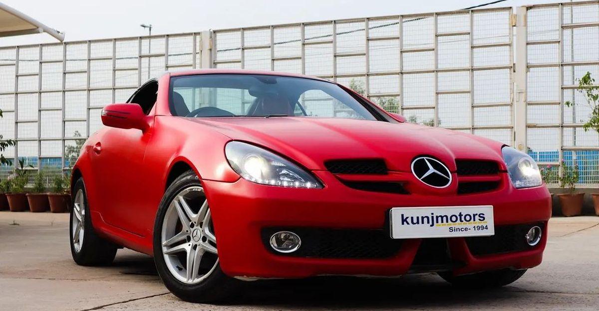 Tata Safari की कीमतों पर बिक्री के लिए अच्छी तरह से बनाए रखा Mercedes-Benz SLK परिवर्तनीय स्पोर्ट्सकार
