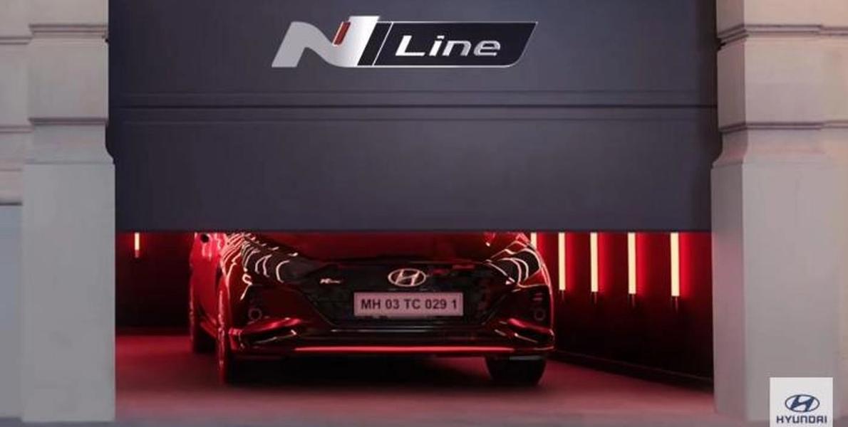 Hyundai i20 N लाइन लॉन्च से पहले स्पॉट की गई
