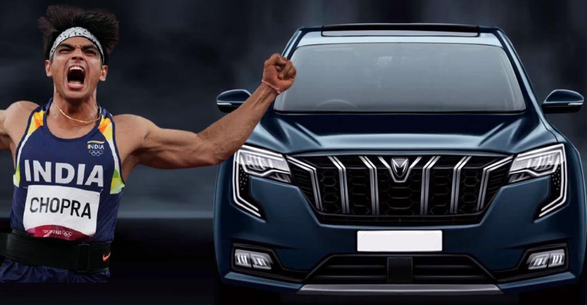 आनंद महिंद्रा: ओलंपिक गोल्ड मेडलिस्ट नीरज चोपड़ा को गिफ्ट करेंगे XUV700 7 सीट वाली SUV
