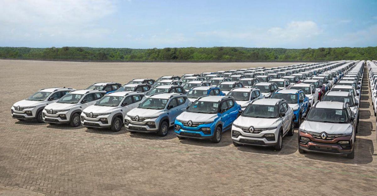 Renault Kiger कॉम्पैक्ट SUV का निर्यात भारत से शुरू