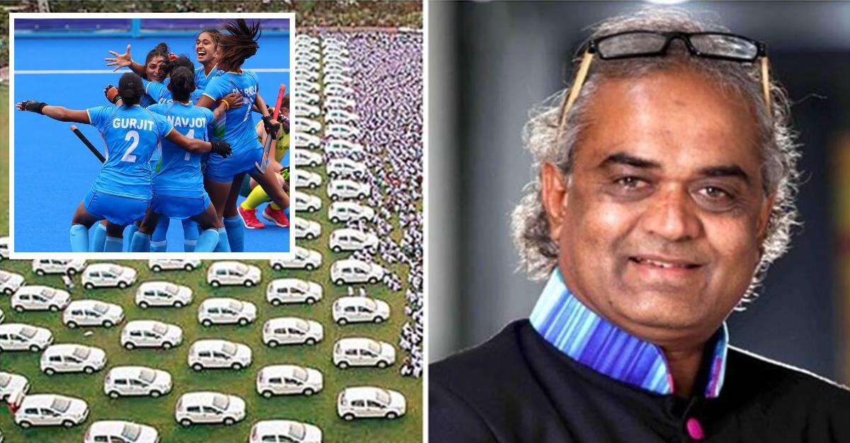 सूरत के हीरा व्यापारी ने ओलंपिक पदक जीतने पर महिला हॉकी टीम के खिलाड़ियों के लिए कार और घर का वादा किया