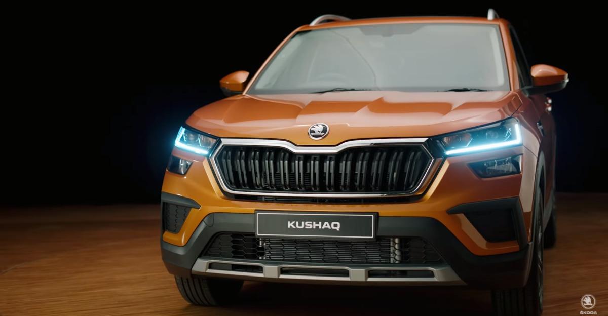 Skoda के हेड ऑफ़ डिज़ाइन ने Kushaq कॉम्पैक्ट SUV के पीछे का आइडिया बताया [वीडियो]