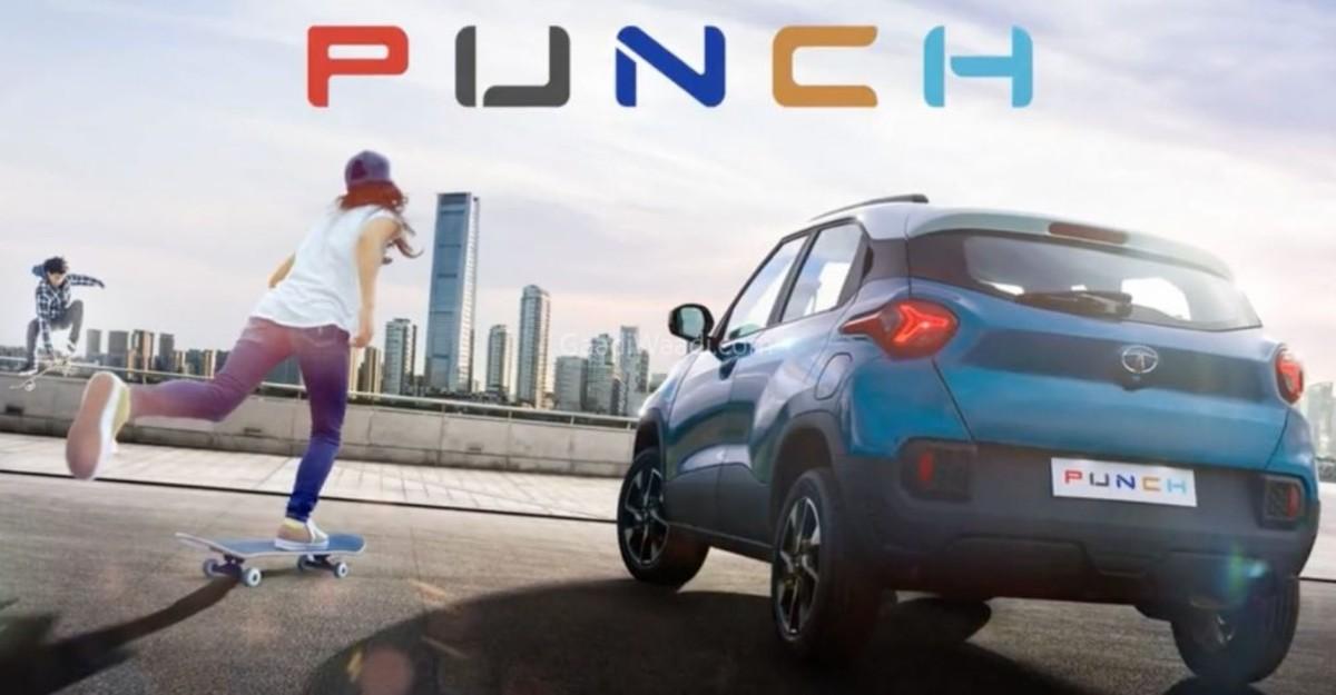 आगामी Tata Punch माइक्रो एसयूवी: रियर-एंड स्टाइल का खुलासा हुआ