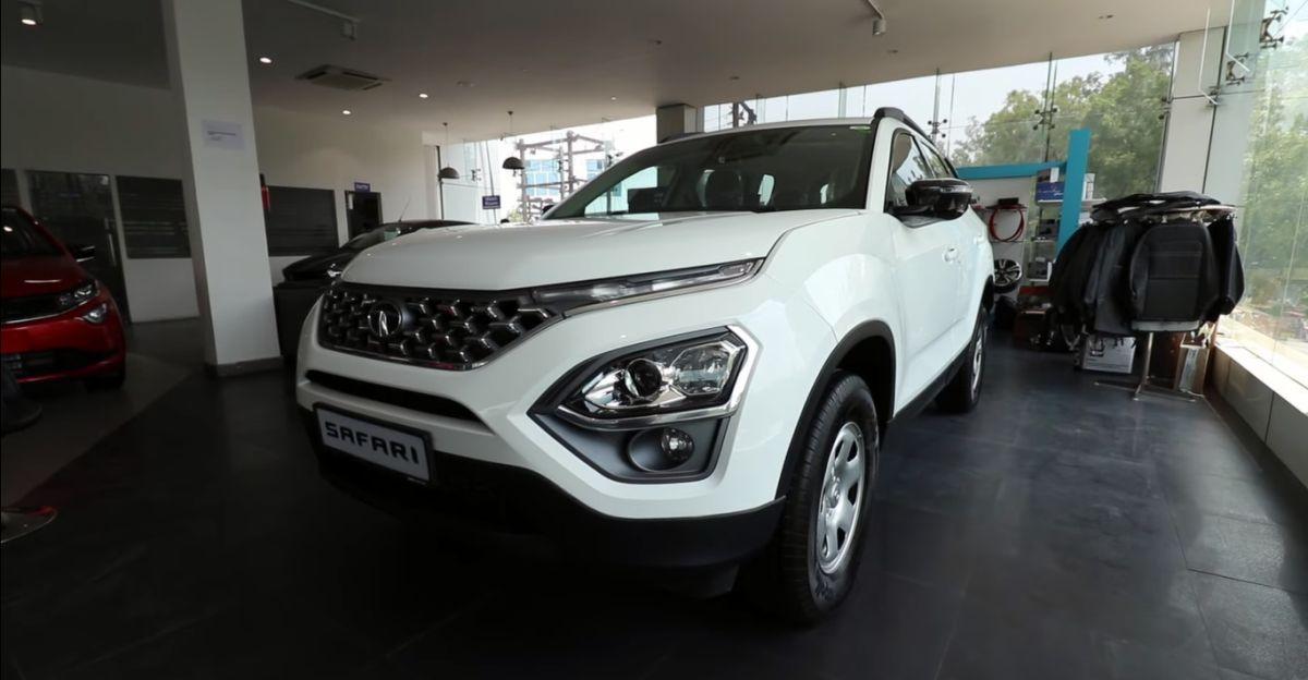 Tata Safari XT Plus को टॉप-एंड ट्रिम की तरह दिखने के लिए customised interiors मिला