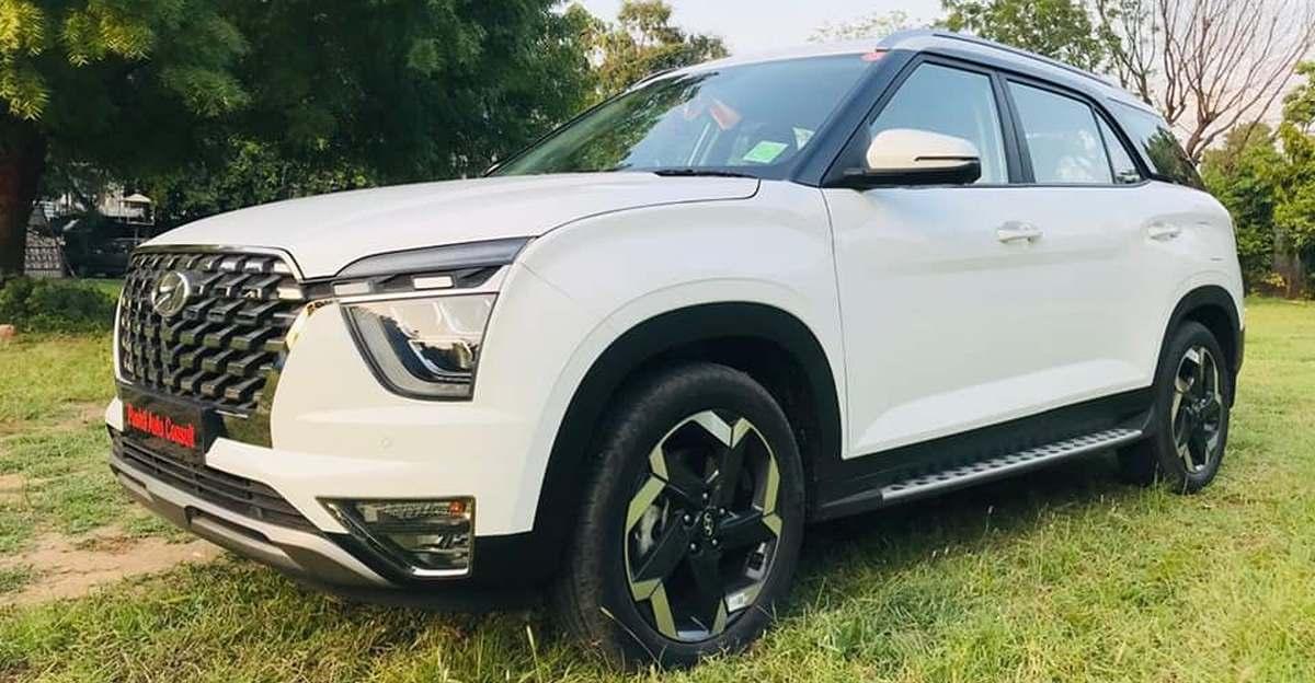 लगभग नई Hyundai Alcazar SUV बिक्री के लिए उपलब्ध
