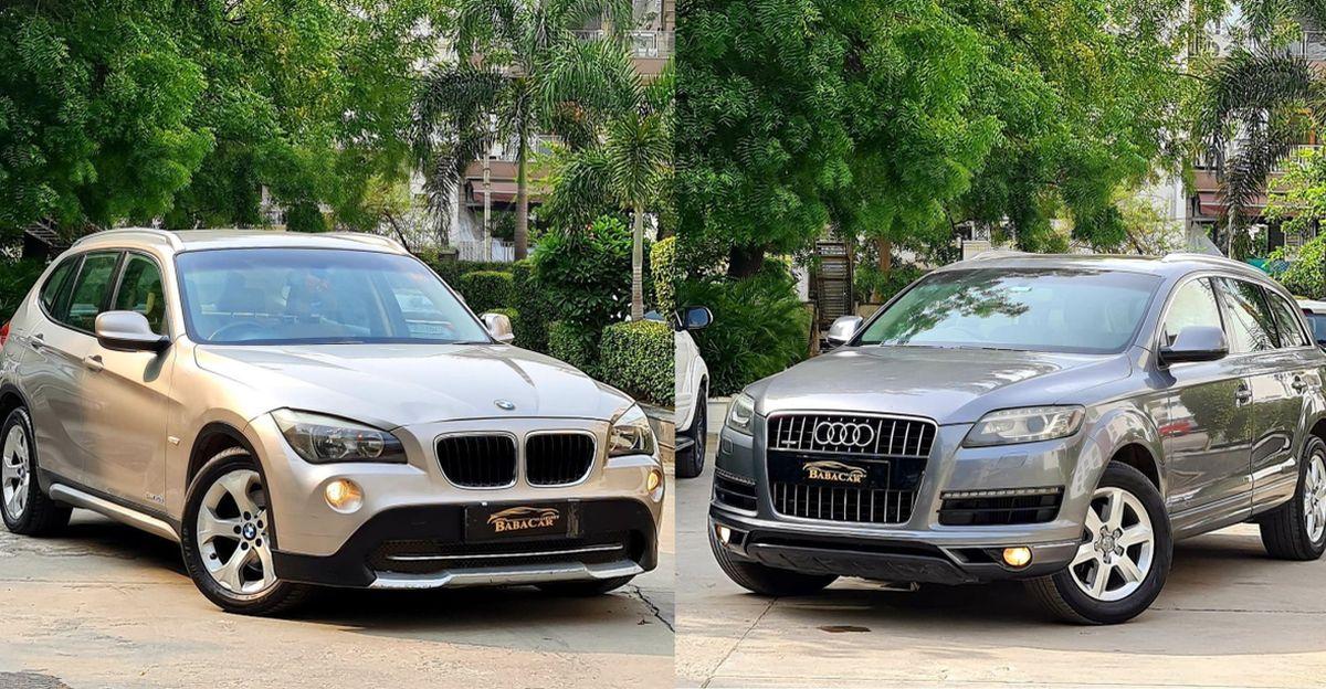 पुरानी Audi Q7 और BMW X1 10 लाख रुपये से कम में बिक रही हैं
