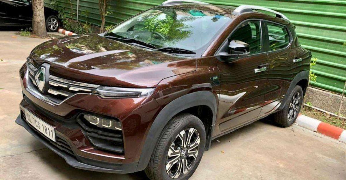 लगभग-नई Renault Kiger कॉम्पैक्ट SUVs बिक्री के लिए