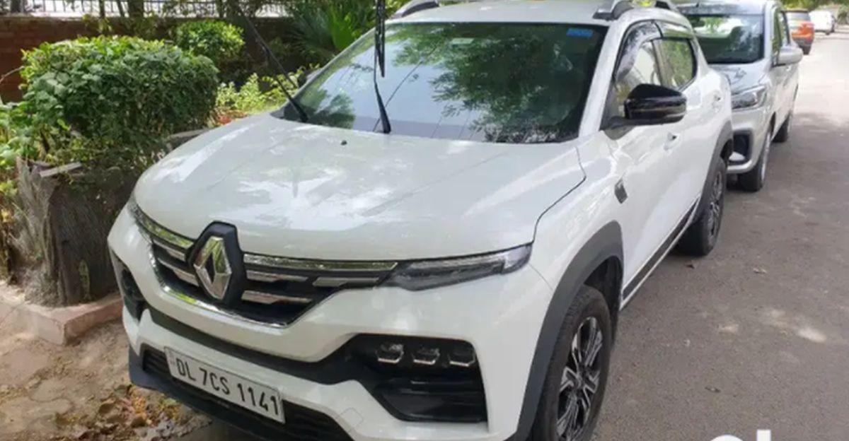 लगभग-नई Renault Kiger सब-4 मीटर कॉम्पैक्ट SUVs बिक्री के लिए