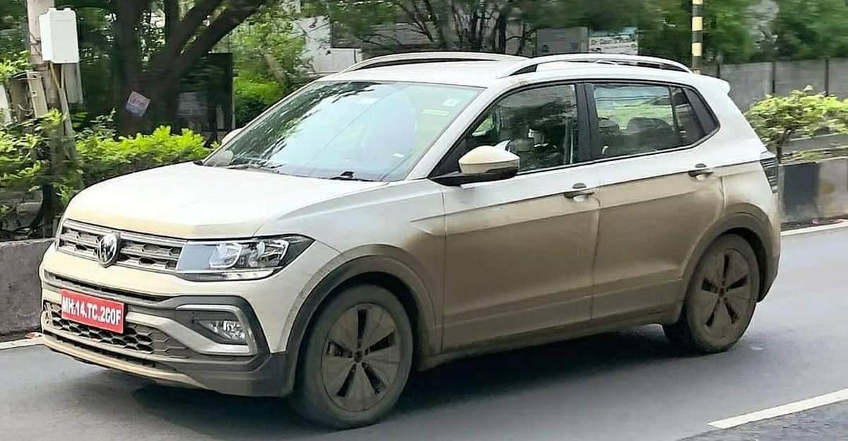 Volkswagen Taigun बिना छलावरण के देखा गया