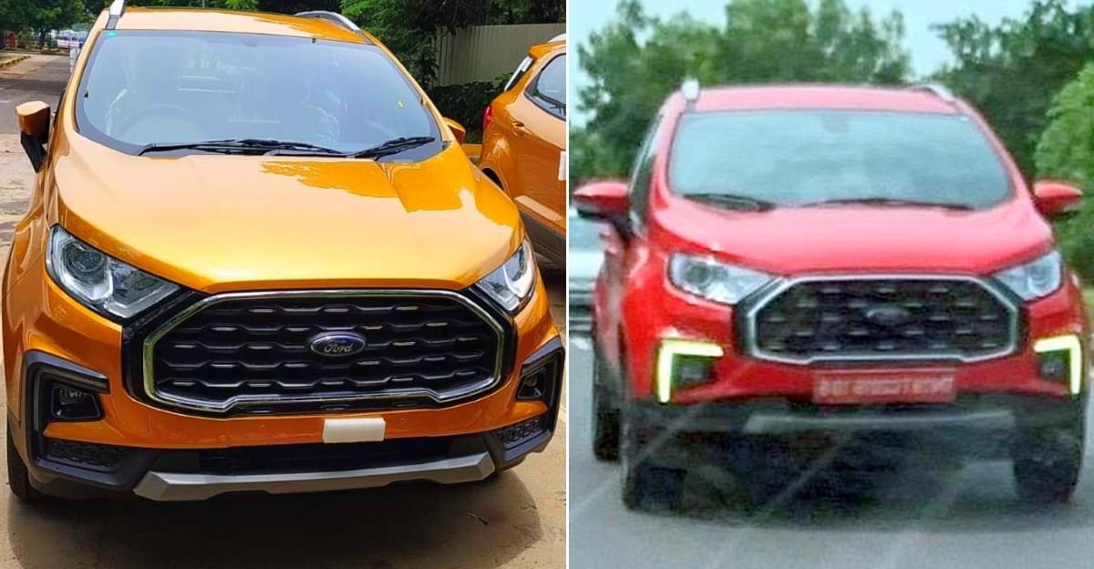 Ford Ecosport फेसलिफ्ट लॉन्च से पहले लीक [Video]