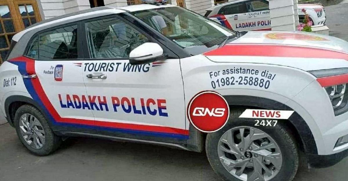 All-new Hyundai Creta Ladakh Police के साथ भारत में पुलिस कार सर्किट में प्रवेश किया