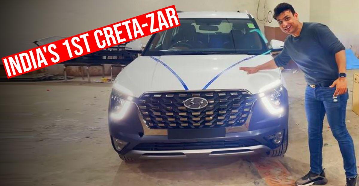 यह Hyundai Creta एक Alcazar बनना चाहती है