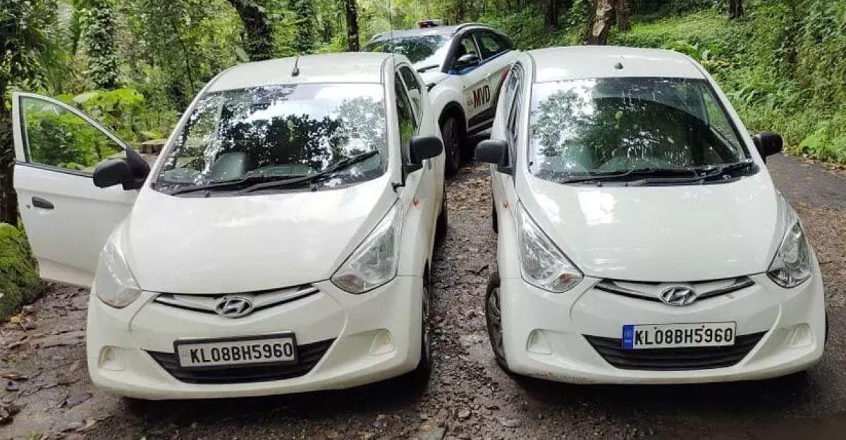 Hyundai Eon के मालिक ने रोड टैक्स से बचने के लिए 2 कारों पर इस्तेमाल किया एक ही रजिस्ट्रेशन नंबर: गिरफ्तार, कारें जब्त