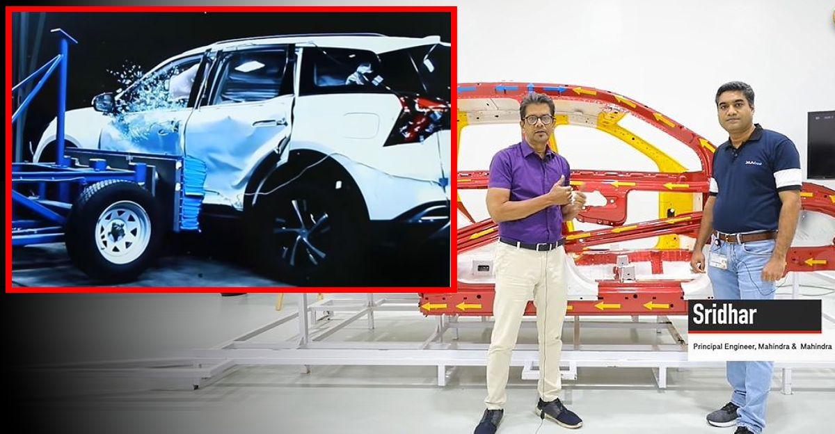 Mahindra के इंजीनियर बताते हैं कि कैसे XUV700 को बेहतरीन सुरक्षा के लिए तैयार किया गया है [वीडियो]