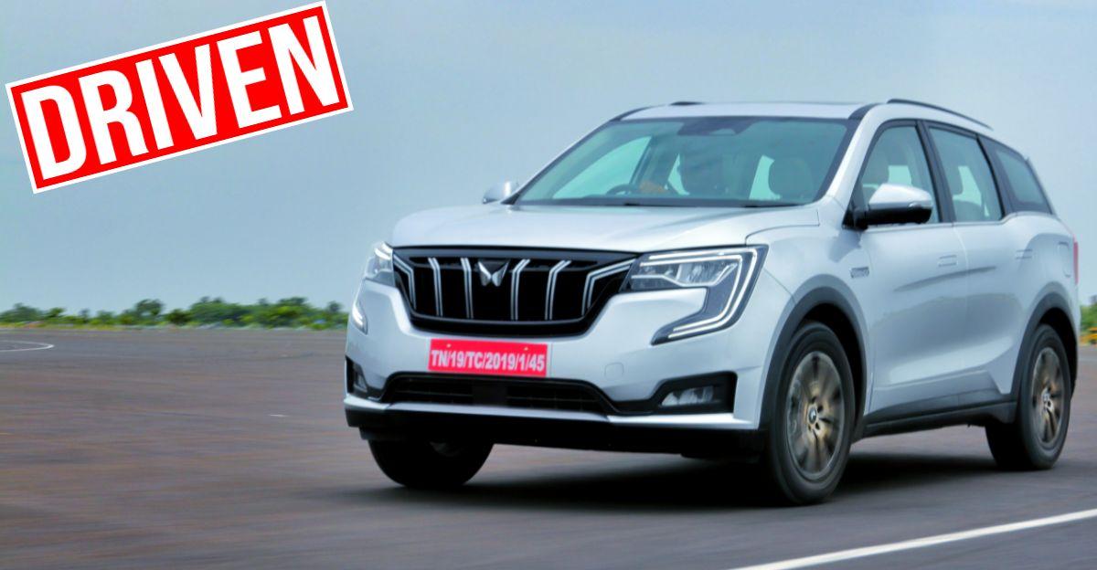 Mahindra XUV700 5 और 7 सीट SUVs: फर्स्ट ड्राइव रिव्यू [वीडियो]