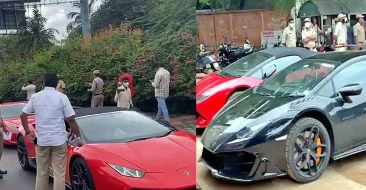 Mercedes-AMG GT, Lamborghini Huracan & 9 अन्य सुपरकार कथित कर चोरी के आरोप में जब्त