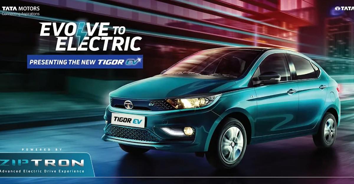 Tata Tigor EV लॉन्च की तारीख आधिकारिक तौर पर सामने आई