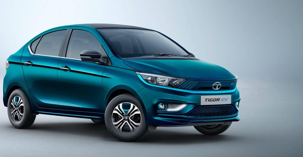 नई Tata Tigor EV आधिकारिक तौर पर सामने आई: भारत की सबसे सस्ती इलेक्ट्रिक कार होगी