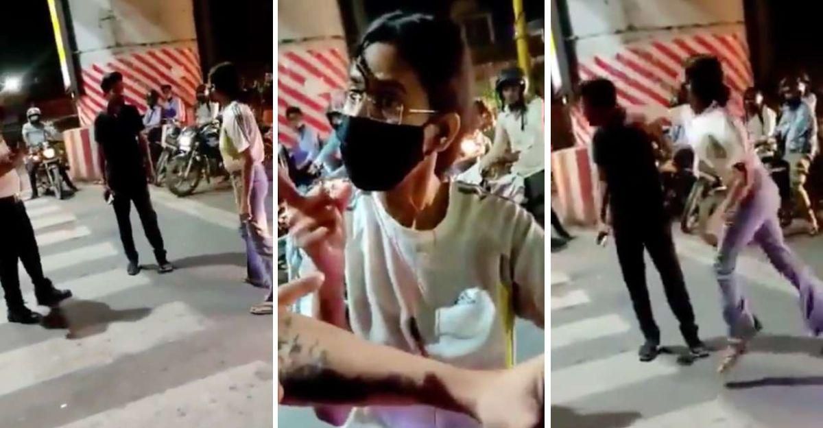 महिला ने बीच सड़क पर कैब ड्राइवर को पीटा: सोशल मीडिया उसके खिलाफ एकजुट