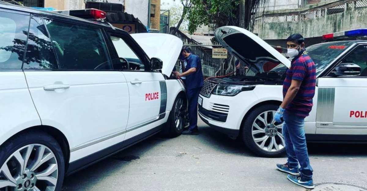 Ambani की बंद हुई सुरक्षा कार Range Rover को jump start करना पड़ा