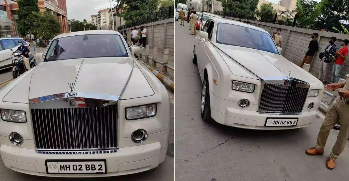 अमिताभ बच्चन की ex-Rolls Royce को RTO ने 5,5000 रुपये जुर्माना के भुगतान पर रिहा किया