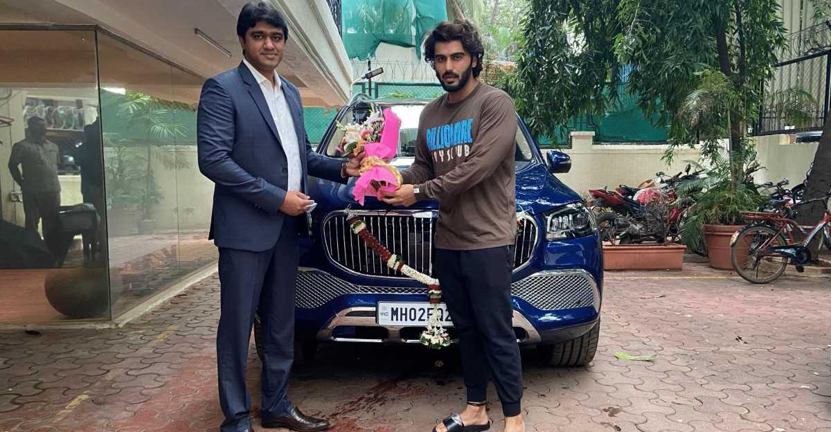 Ranveer Singh की Maybach में जून की सवारी के बाद, Arjun Kapoor ने एक Maybach GLS600 SUV खरीदी
