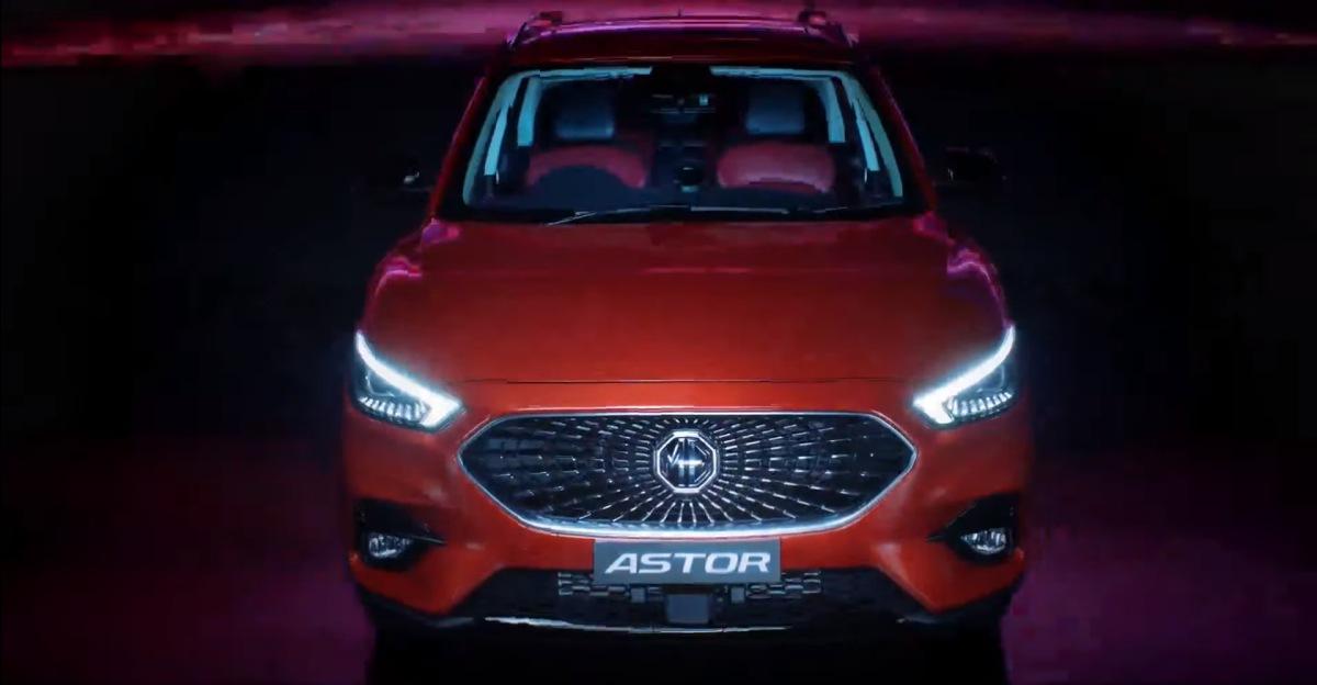 MG Astor कॉम्पैक्ट SUV का आधिकारिक अनावरण: प्रतिद्वंद्वी Hyundai Creta और Kia Seltos