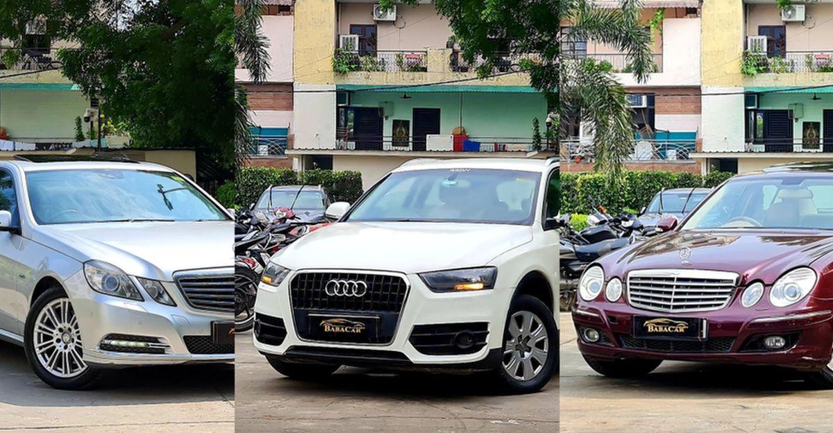 Well kept Audi & Mercedes Benz लग्जरी कारें सिर्फ 4.75 लाख रुपये से शुरू