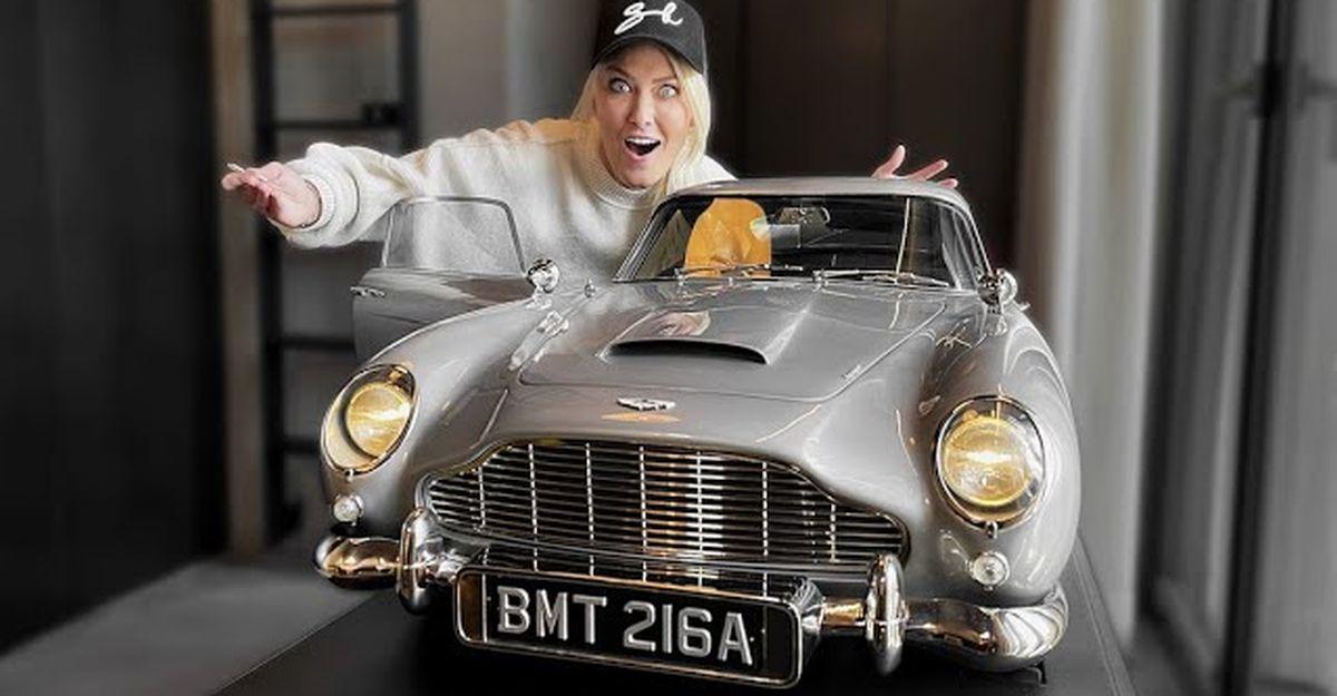 यह James Bond Aston Martin DB5 है दुनिया की सबसे महंगी खिलौना कार