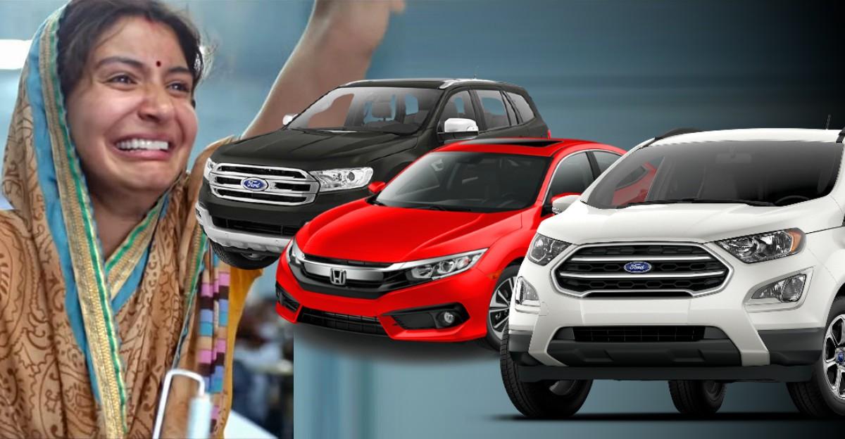 2021 में 'अलविदा इंडिया' कहने वाली 10 कारें और SUVs: Ford EcoSport से Mahindra XUV500