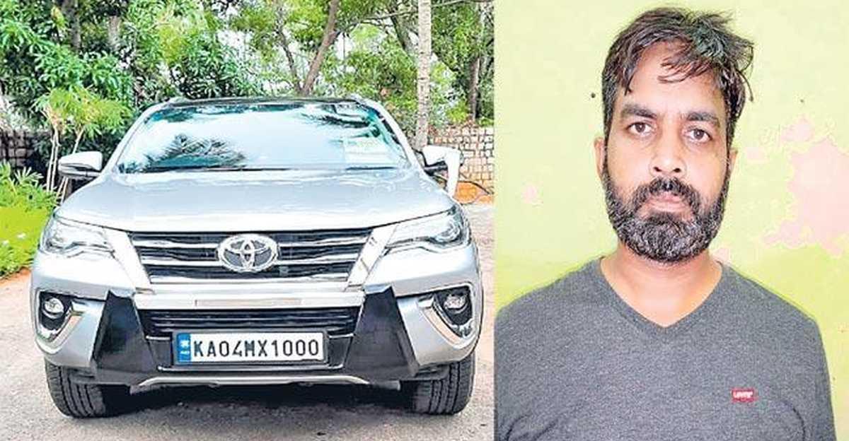 हैदराबाद पुलिस से एमबीए कार चोर: हो सके तो मुझे पकड़ लो