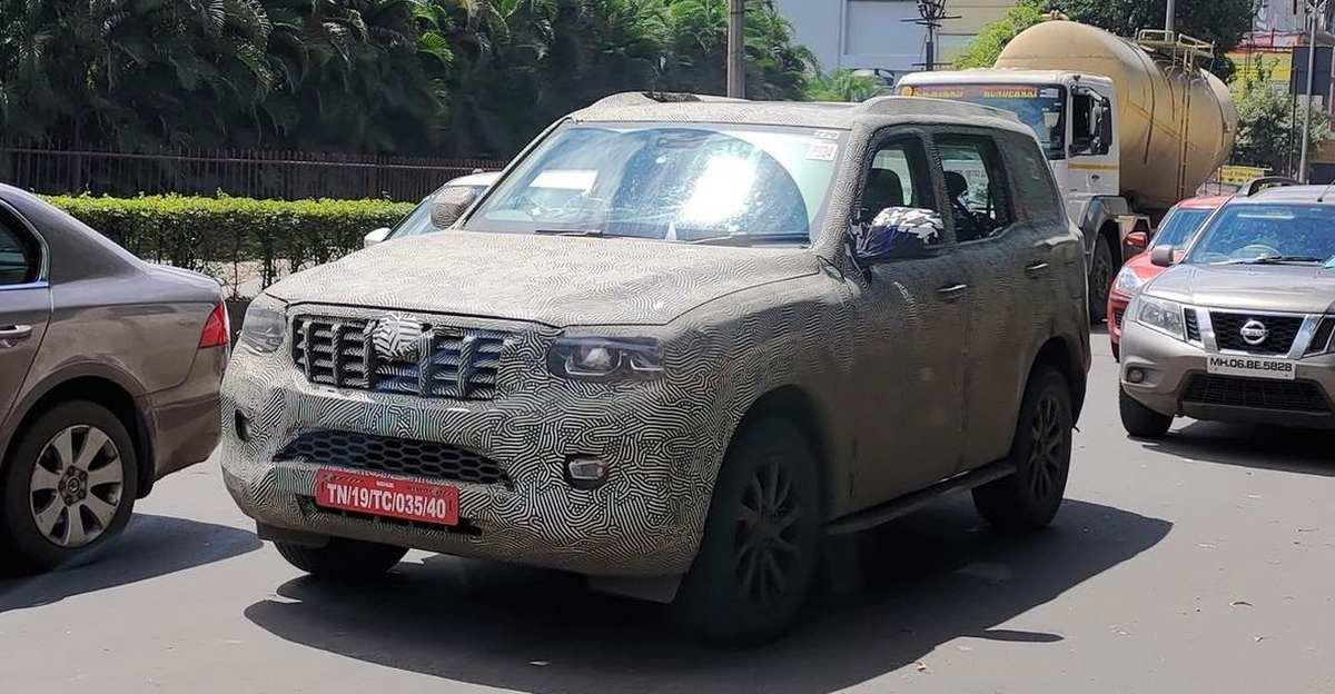 2022 Mahindra Scorpio SUV लॉन्च से पहले देखी गई