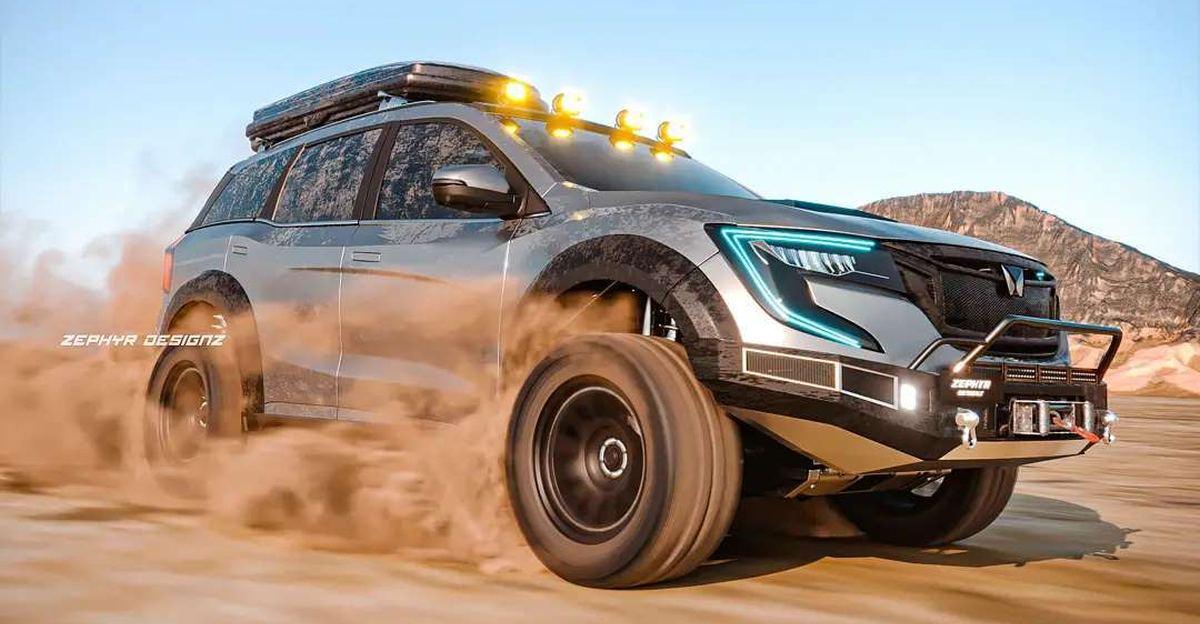 Mahindra XUV700 को Adventure Edition SUV के रूप में प्रस्तुत किया गया