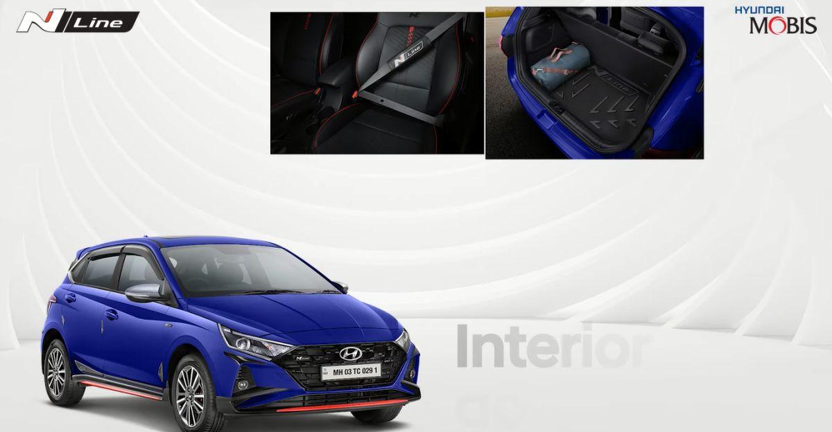 Hyundai i20 N Line की आधिकारिक accessories का खुलासा हुआ