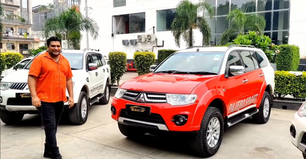 पुरानी Mitsubishi Pajero Sport SUVs मात्र 6.45 लाख रुपये से शुरू