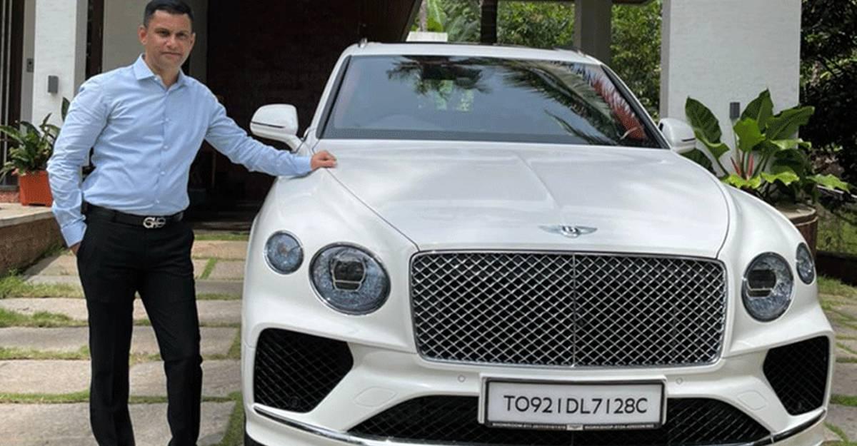 कर्नाटक का पहला Bentley Bentayga 6.5 करोड़ रुपये में करोड़पति बिल्डर ने खरीदा