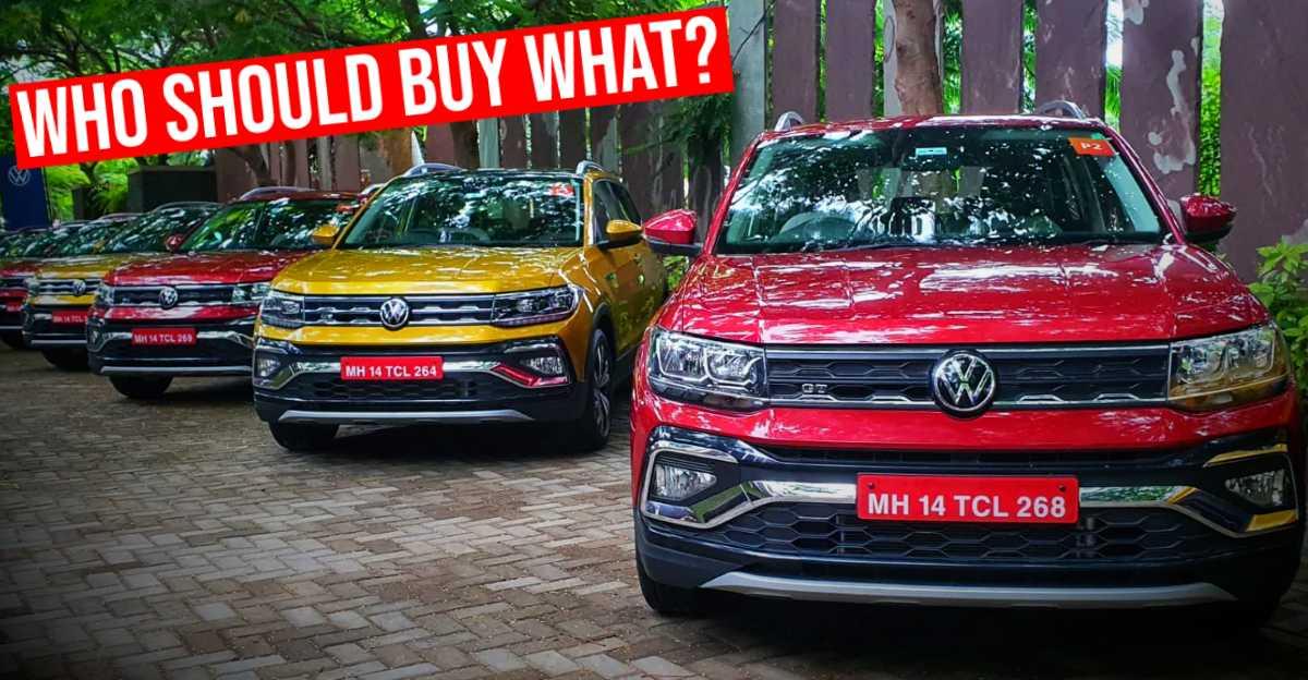 Volkswagen Taigun कॉम्पैक्ट एसयूवी: वेरिएंट की व्याख्या